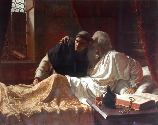 The Secret by Edmund Blair Leighton
