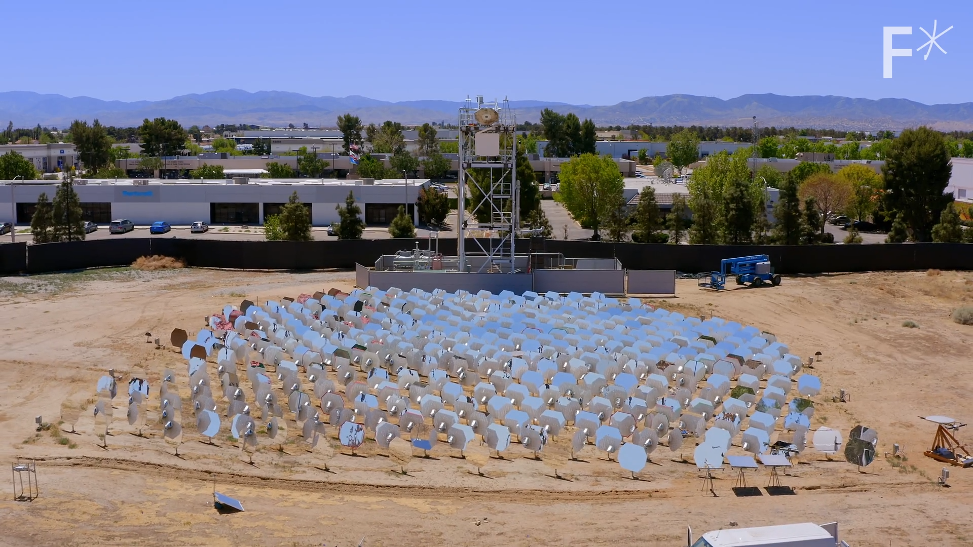 Heliogen: concentrated solar power plant produces temperatures of 2700° F