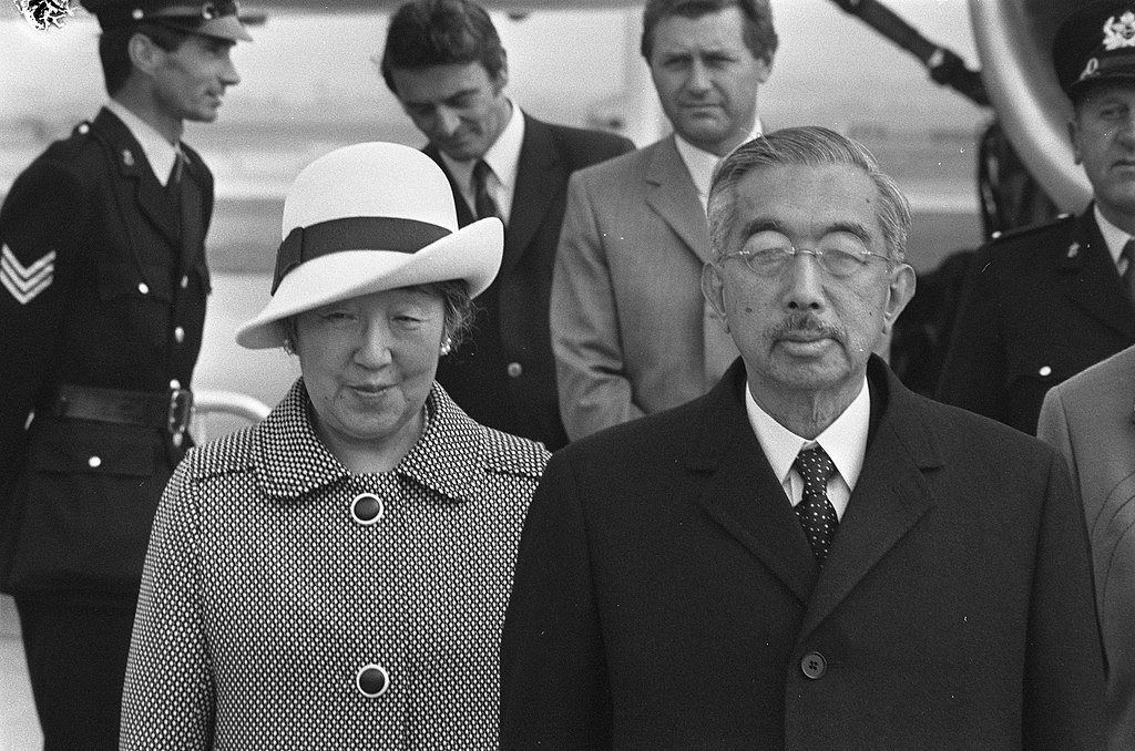 Emperor Hirohito in the Netherlands