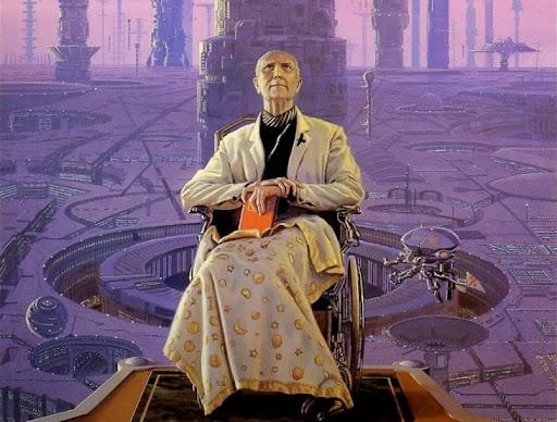 Hari Seldon, father of psychistory and mathematical sociology
